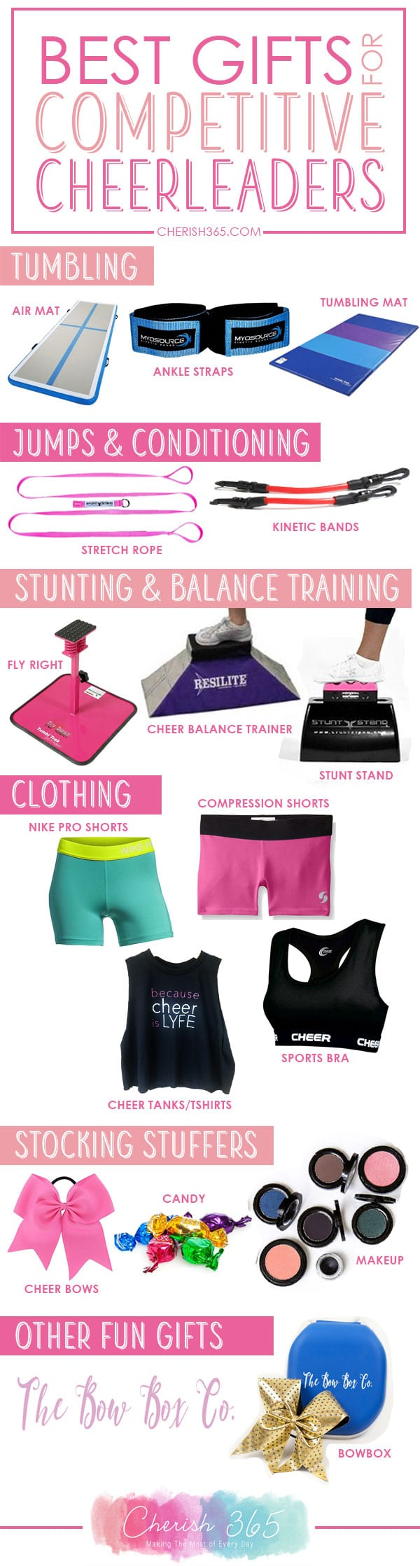 Christmas Gifts for Competitive Cheerleaders: An All Star Cheer Gift ...