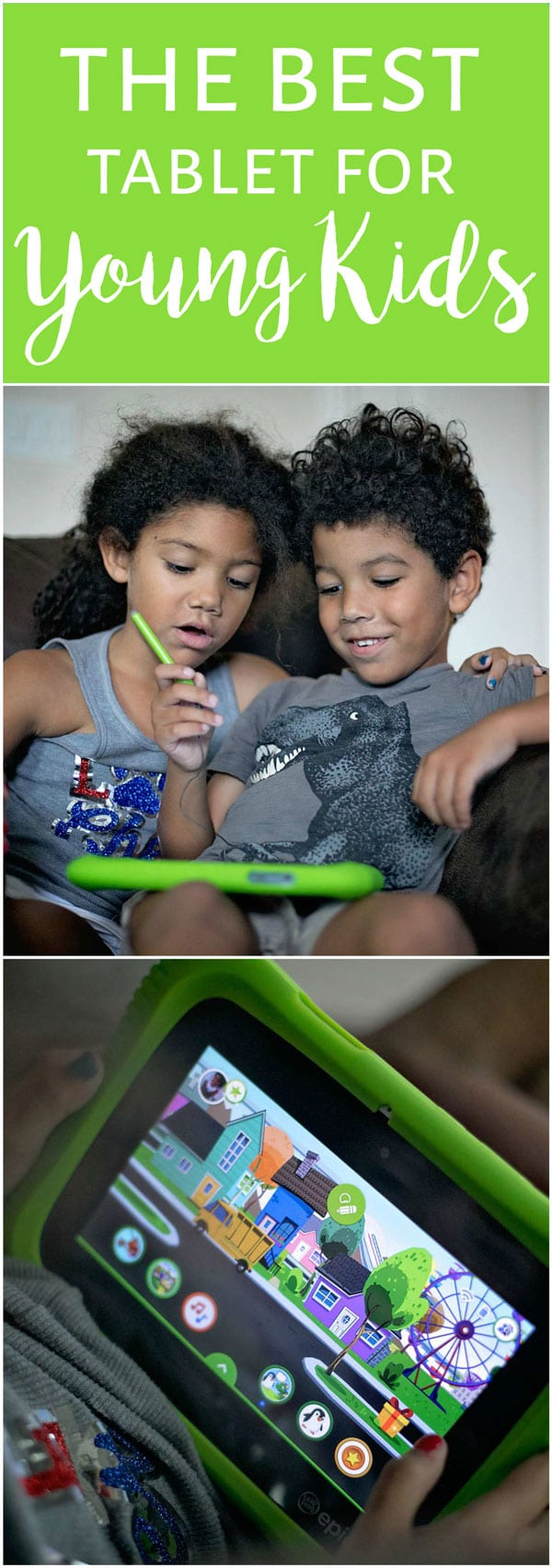 LeapFrog Epic Tablet Academy Edition is the one of the best tablets for young kids. Here's why...