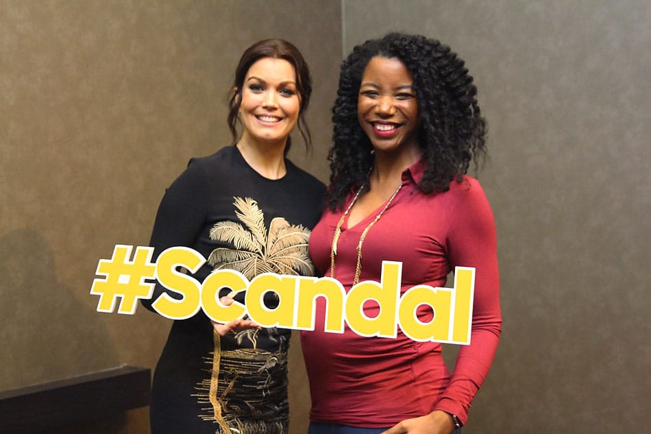 Bellamy young viola davis how to get away with murder scandal crossover interview