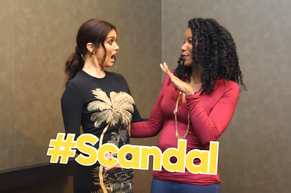 Bellamy young viola davis how to get away with murder scandal crossover