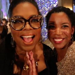 Dreams come true. How this selfie with Oprah came to be during Disney's A Wrinkle in Time Premiere