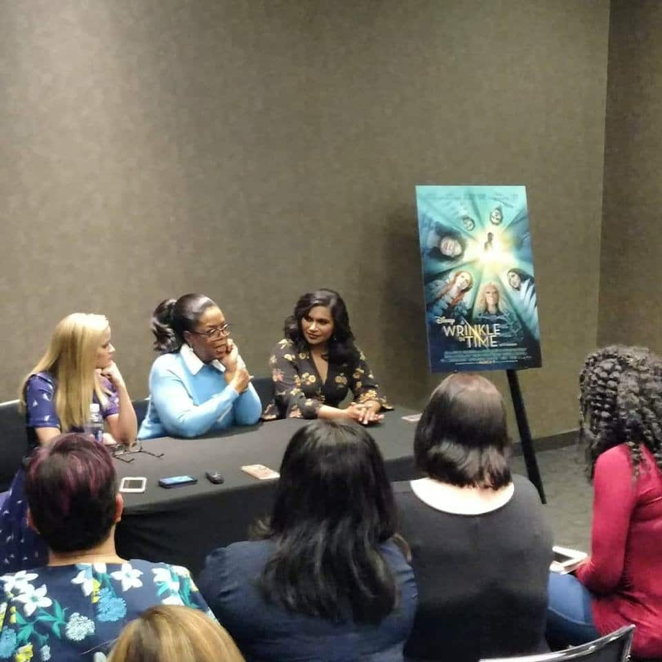 Oprah Winfrey Wrinkle in Time Interview with Jennifer Borget