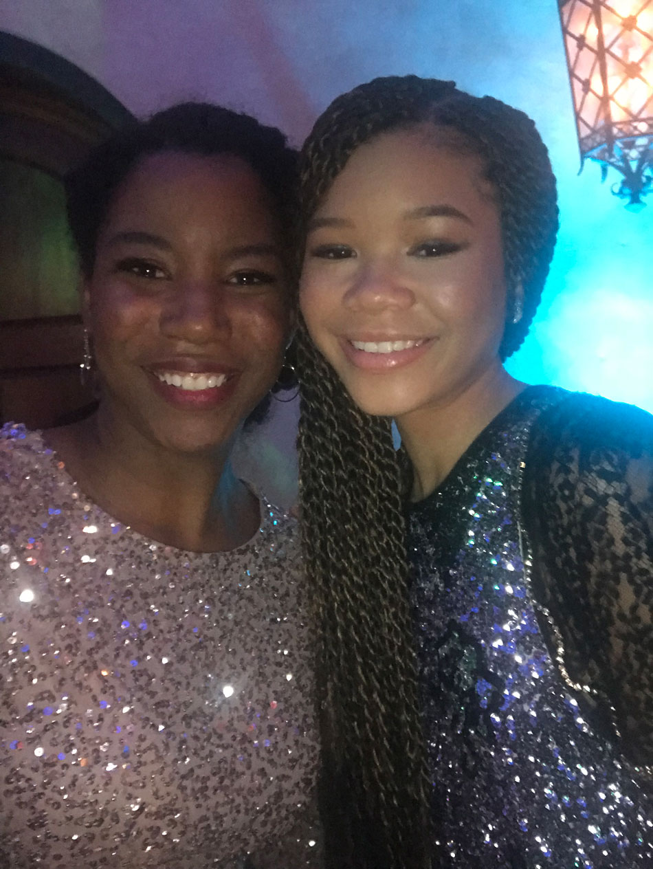 Dreams come true. How this selfie with Storm Reid came to be during Disney's A Wrinkle in Time Premiere