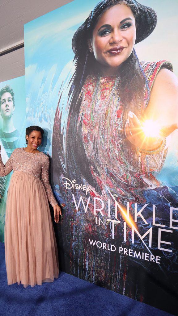 Disney's Wrinkle in Time red carpet blue carpet premiere event