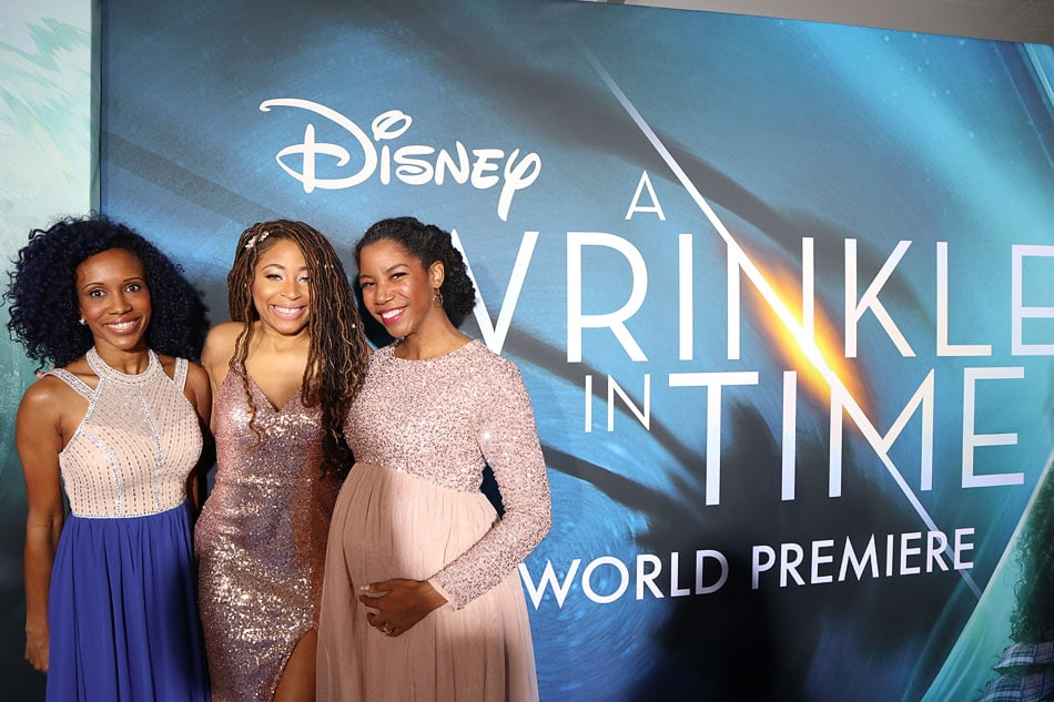 Disney's Wrinkle in Time red carpet blue carpet premiere event