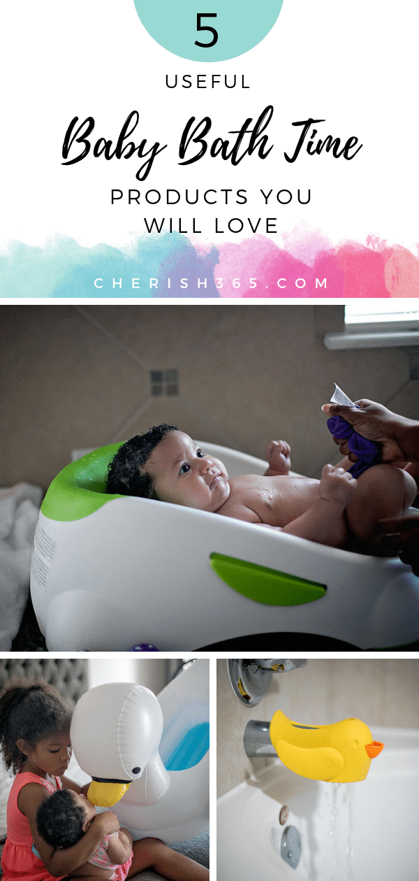 Useful Baby Bath Time Products You Will Love