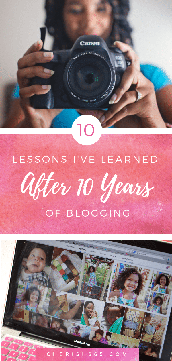 10 Lessons I've Learned After 10 Years of Blogging