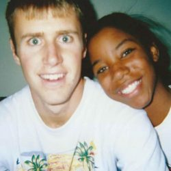 from humble beginnings to dream home: interracial couple newlyweds