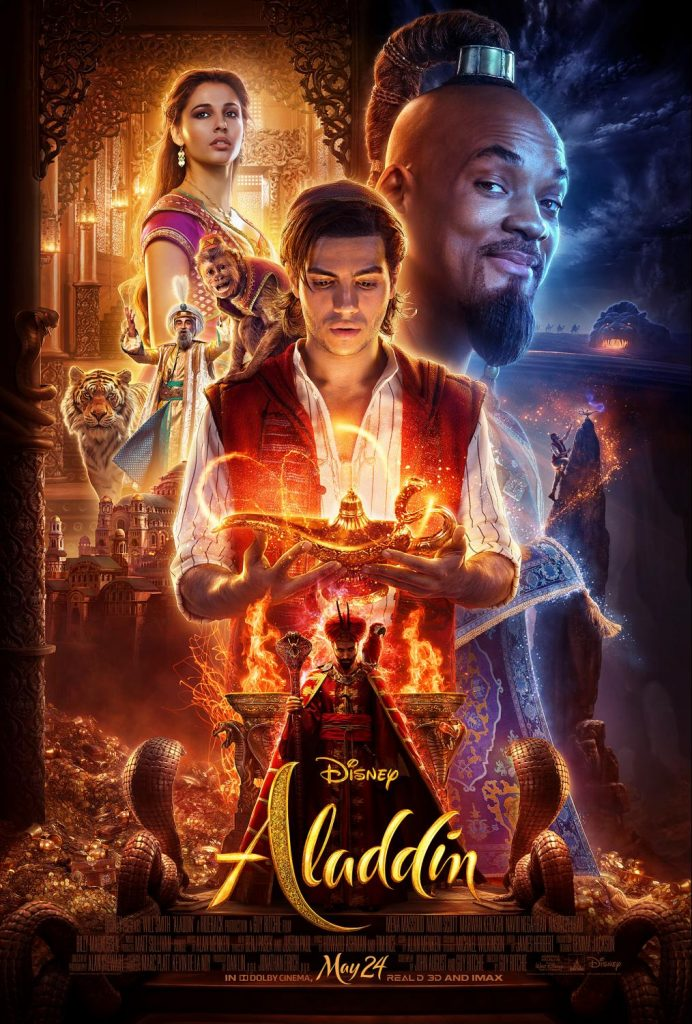 Aladdin kids movie review safe for kids