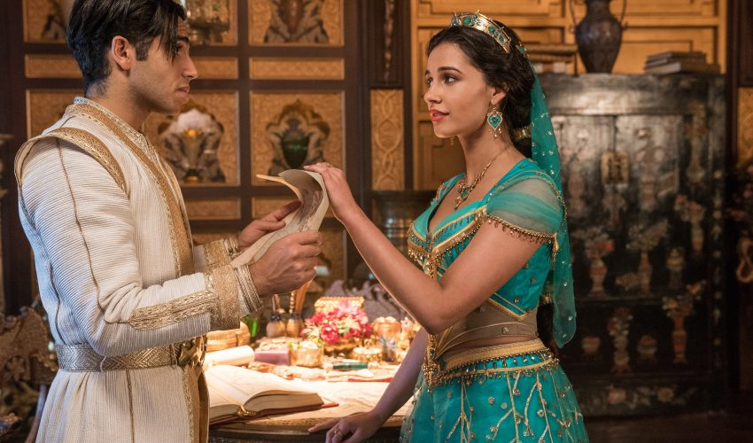 Aladdin and Jasmine in Aladdin review