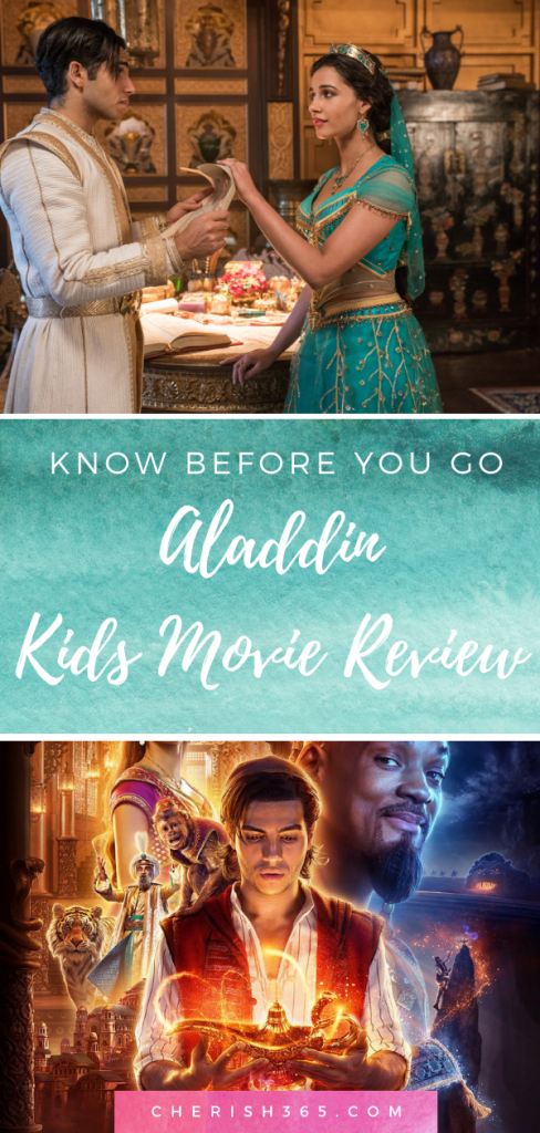 Aladdin kids movie review
