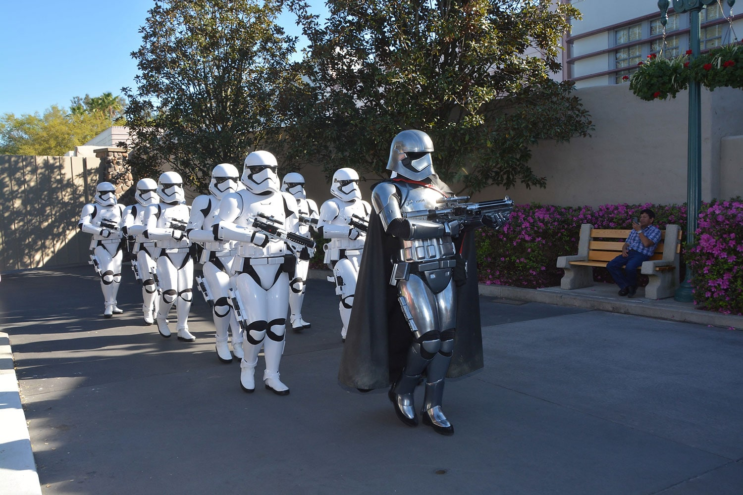 The First Order March on the Star Wars Guided Tour at Disney's Hollywood Studios