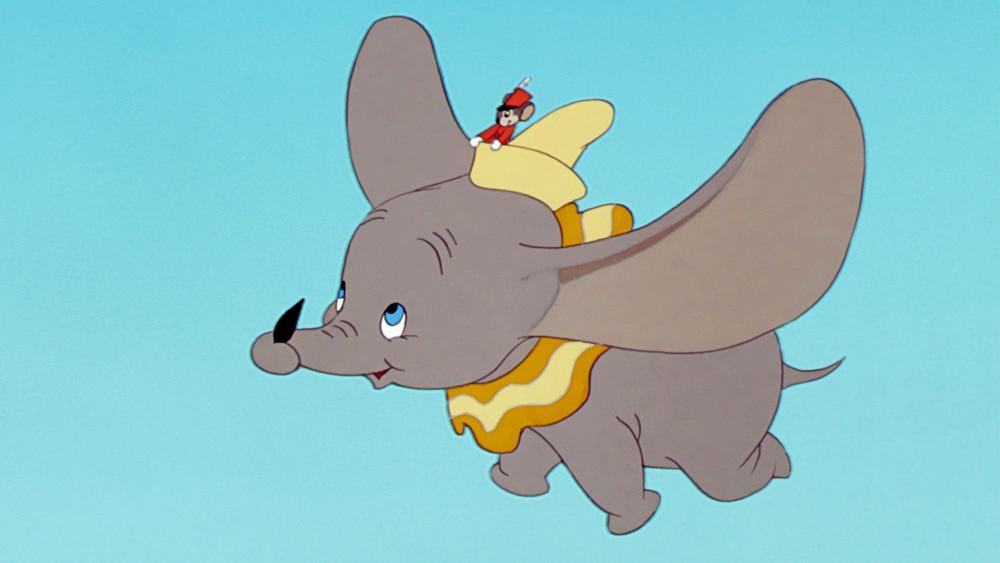 Dumbo jim crow scene