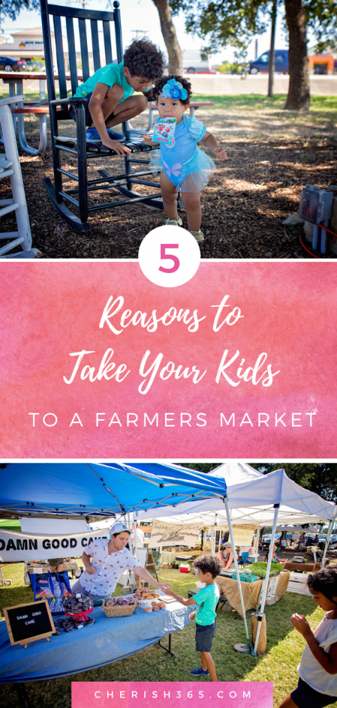 5 reasons to take your kids to a farmers market