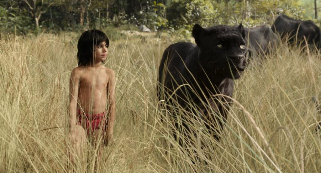 Disney live action jungle book movie clip