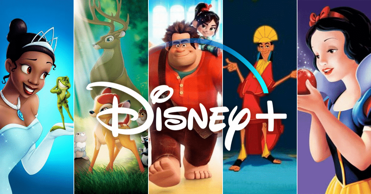 The Ultimate Disney Movies Checklist for Animated Movies on Disney Plus