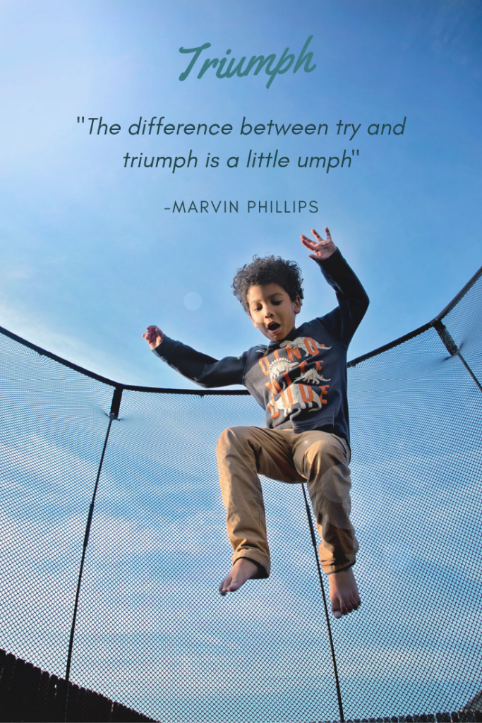 Inspirational quotes for kids. Back to school quote by Marvin Phillips.