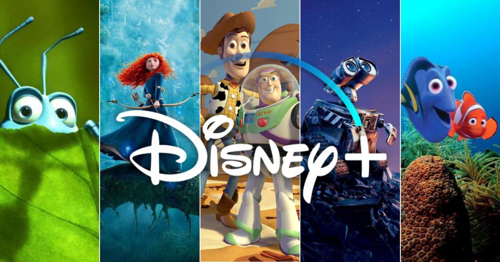 Pixar movies on Disney Plus. A Pixar movie checklist for Disney+