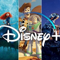 Pixar movies on Disney plus