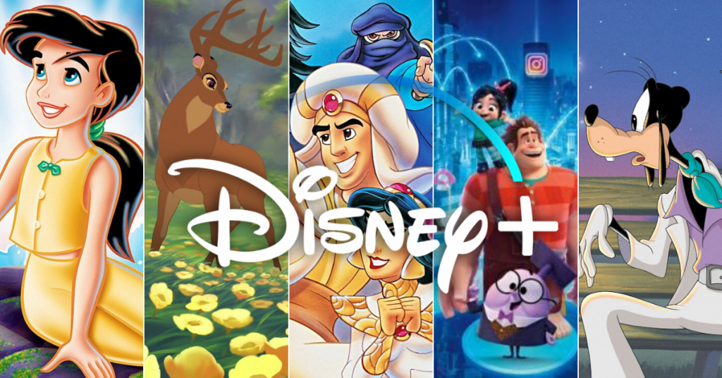 Disney sequels on Disney plus
