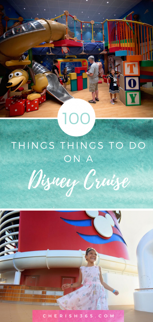 list of things to do on a disney cruise