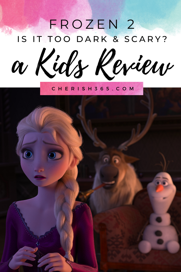 Is Frozen 2 scary or confusing? A kids review of the movie.