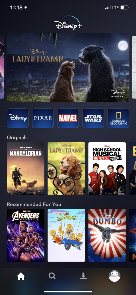 Is Disney+ worth it? iphone app screenshot