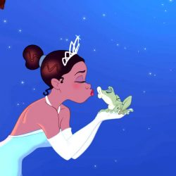 princess and the frog screen grab for black history month movies