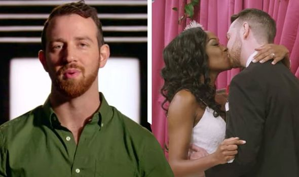 Cameron and Lauren share an interracial kiss