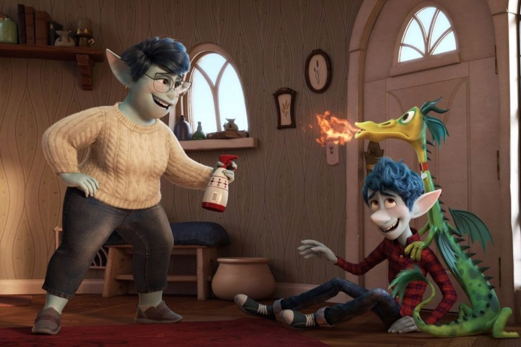 Disney Pixar Onward family review.