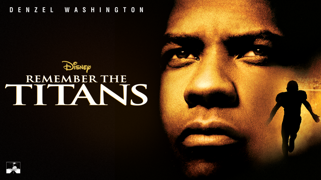 Remember the titans in a list of Disney Black History month movies
