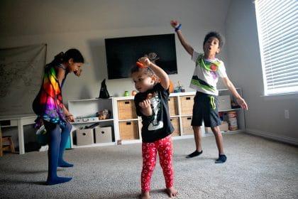 Social Distance Halloween ideas like a dance party