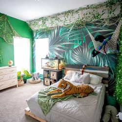 Jungle room safari room decoration ideas