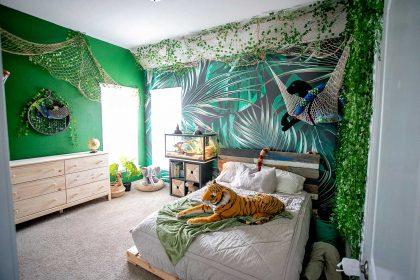 Jungle room safari room decoration ideas
