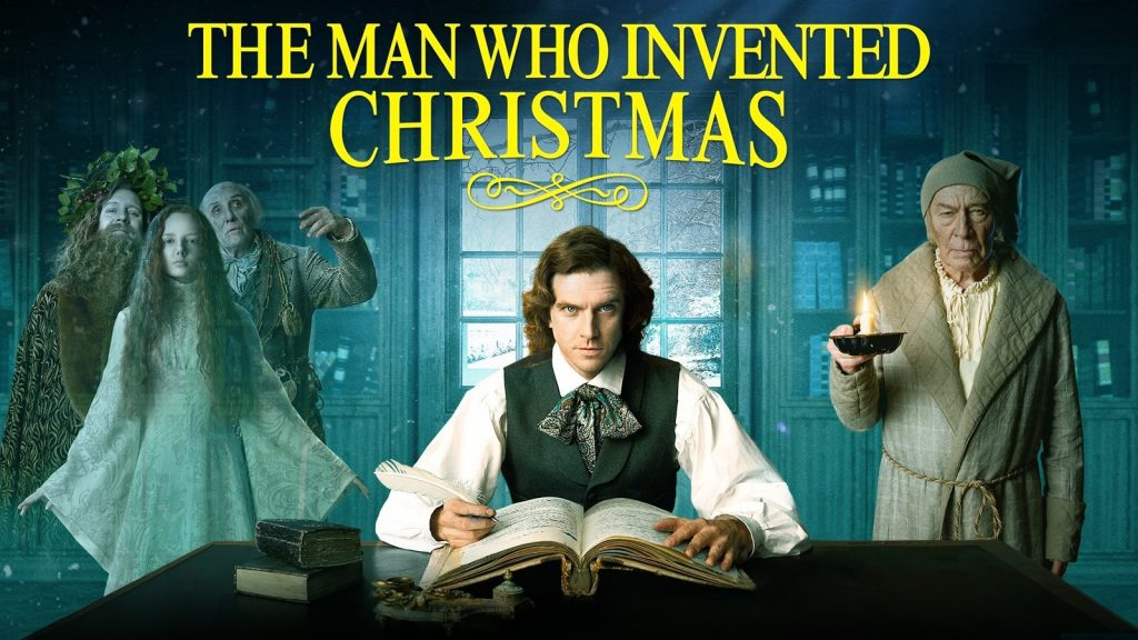 holiday family movies - The Man Who Invented Christmas