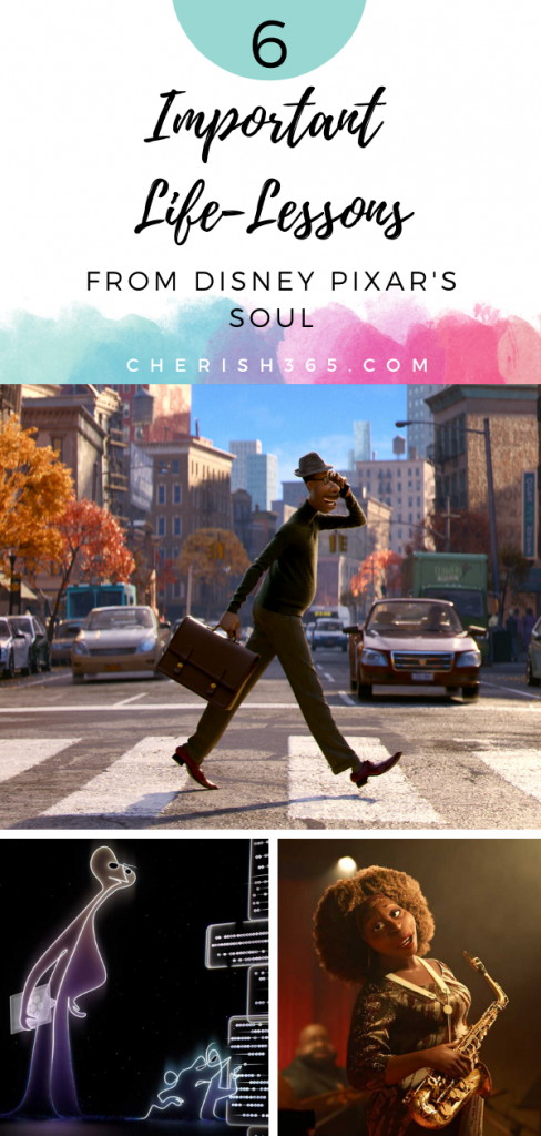 Disney Pixar's Soul is moving in many ways and there are some great takeaways. Here are six important Soul life lessons we learn from the movie.