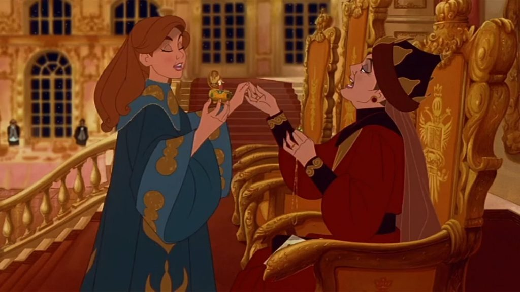 Anastasia - ultimate 90s movie checklist