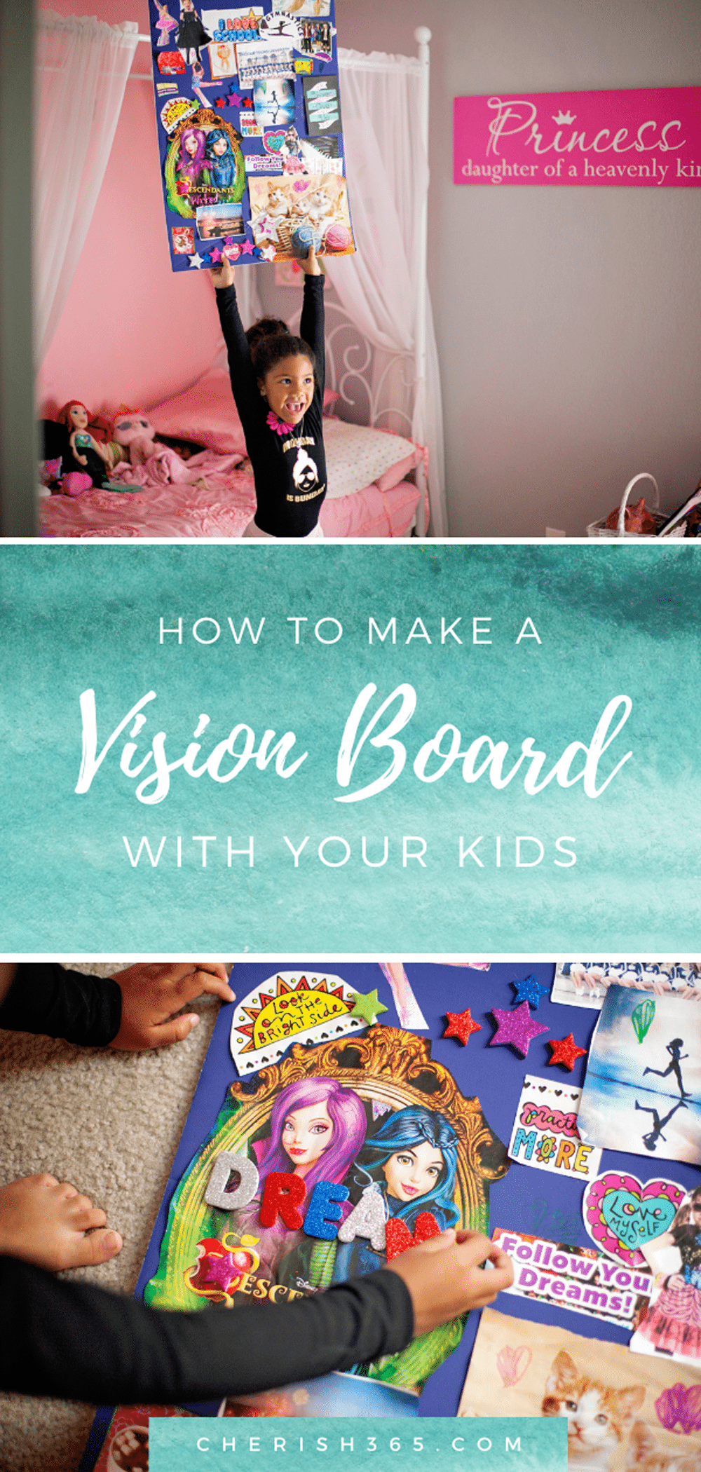How to Help Your Child Follow Their Dreams by Making a Vision Board