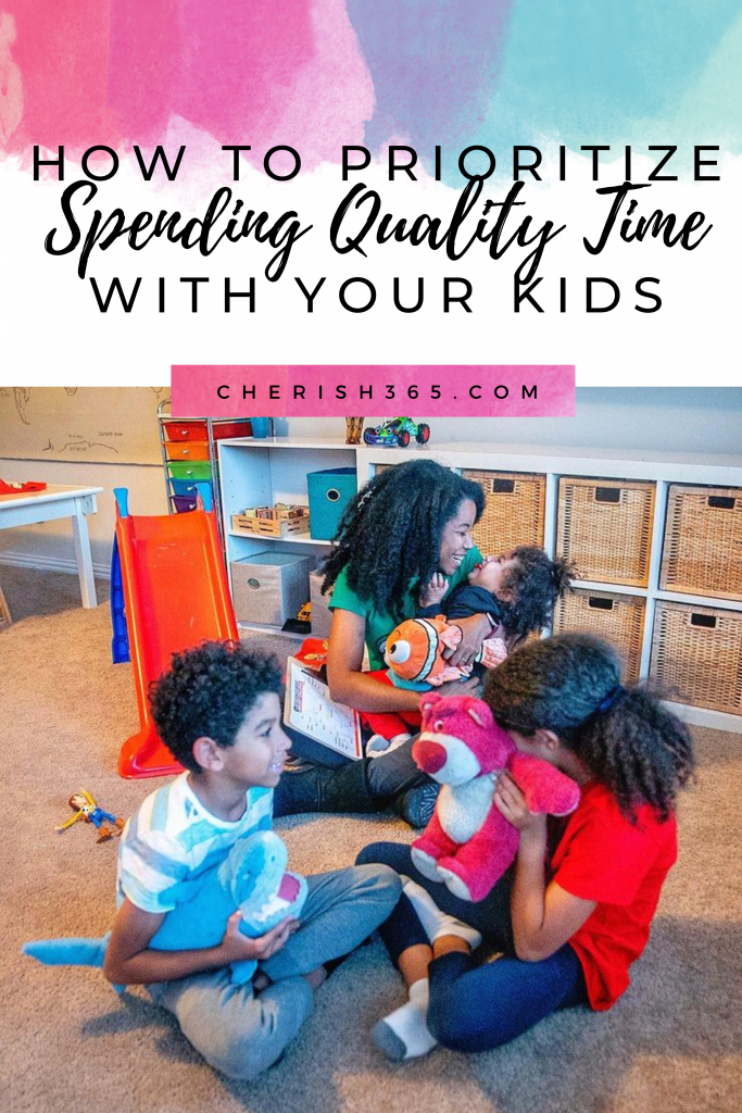 spending quality time with kids