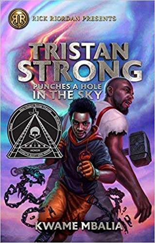 Tristian Strong book cover. It's a great African American folktale story to add to your list of diversity and inclusion gifts for kids.