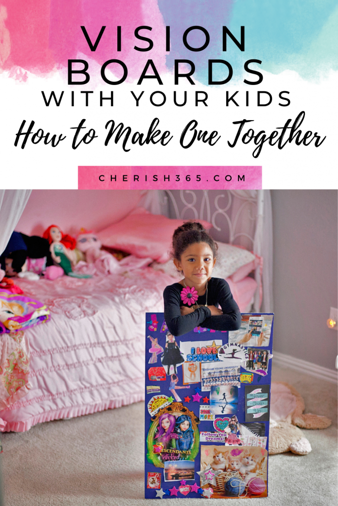 Help your child realize their dreams! Tips for how to make vision boards for kids. Easy tips and tricks for making vision boards with your kids.