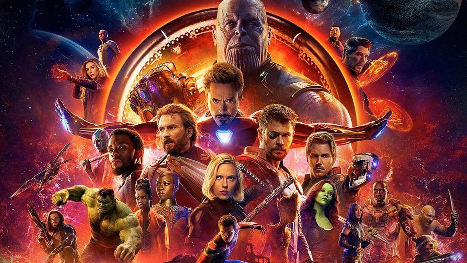 infinity war marvel movie list