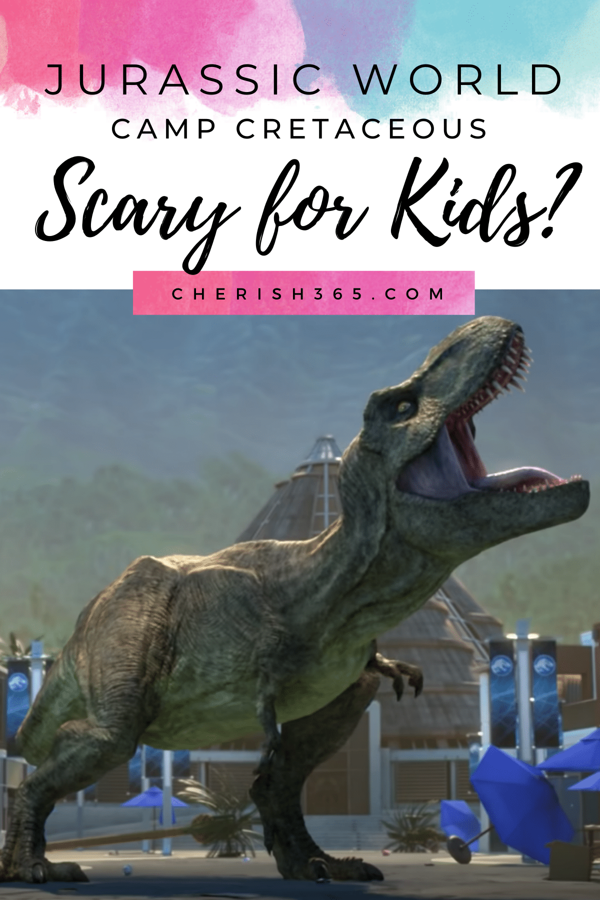 Is Jurassic World Camp CRETACEOUS Scary for Kids? A Review