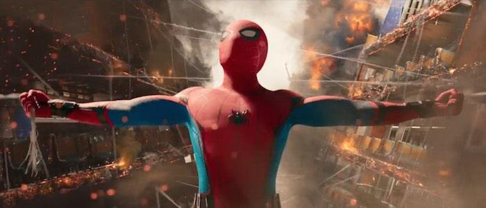 spider-man marvel movie list