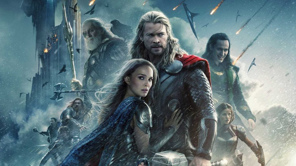 thor avengers movie list