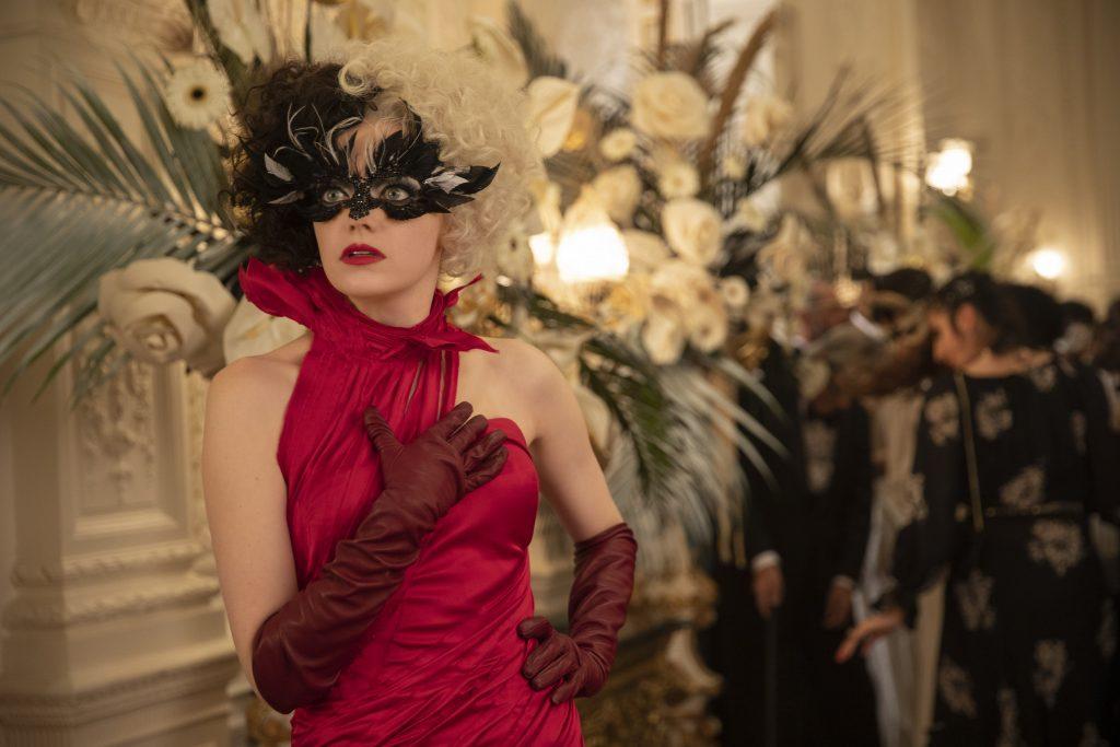 Emma stone as Cruella in Disney's live action movie
