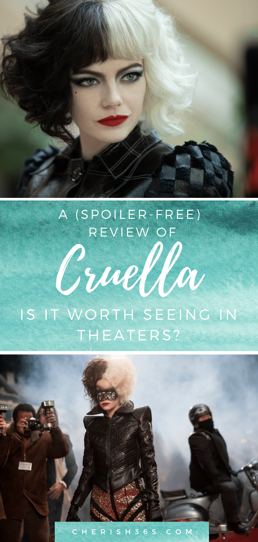 Is Cruella Scary for Kids? An Honest Movie Review With my 8 and 10 Year Old