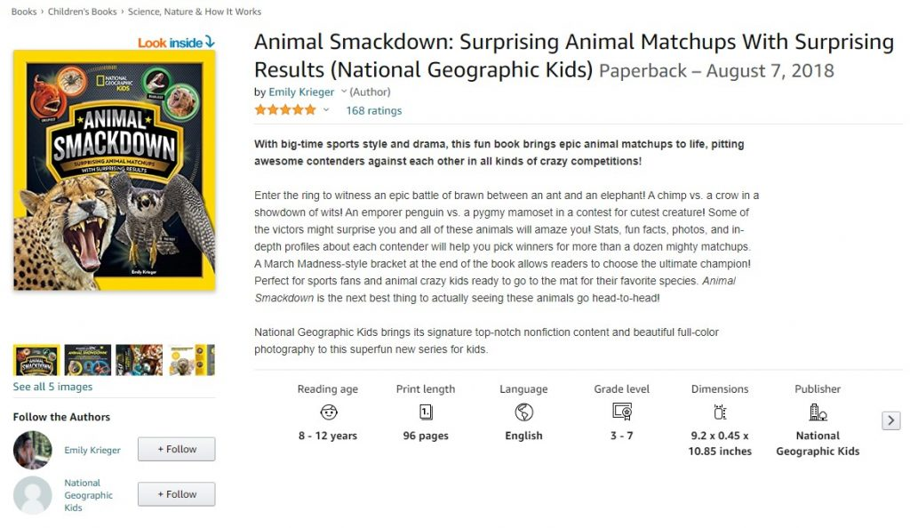 Animal Smackdown Amazon - Educational Resources for Animal Lovers
