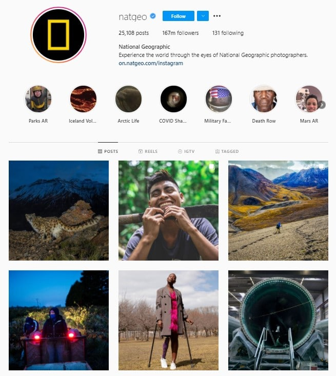 Natgeo Instagram  - Educational Resources for Animal Lovers