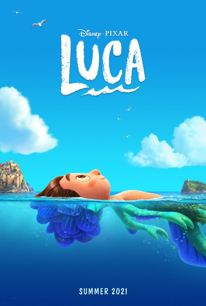 Pixar Luca movie poster and review